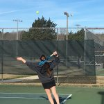 Girls Varsity Tennis falls to Hillcrest