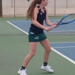 Girls Varsity Tennis falls to Thompson