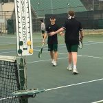 Boys Varsity Tennis falls to Thompson