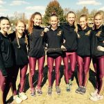 Bloomington High School North Girls Varsity Cross Country finishes 1st place