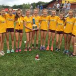 Bloomington High School North Girls Varsity Cross Country finishes 2nd place