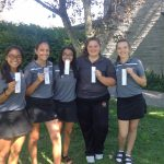 Bloomington High School North Girls Varsity Golf finishes 3rd place