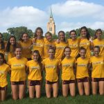 Bloomington High School North Girls Varsity Cross Country finishes 3rd place