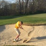 Bloomington High School North Boys Varsity Golf falls to Martinsville High School 342-401