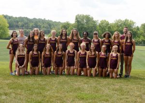 Girls Cross Country Team Picture 2018-19