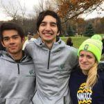 Christian Artress, Caden Arrendondo and Brianna Martin qualify for the MHSAA D3 XC State Finals