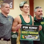 Reece Ferrigan breaks Grayling's all-time pin record
