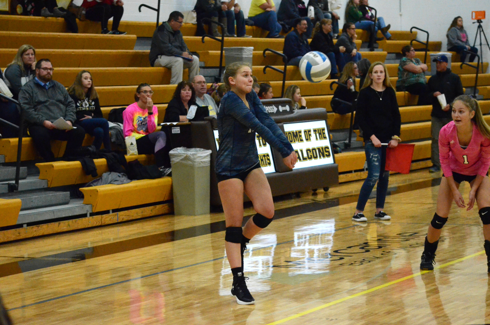 Ellie Wagner Sets School Record for Digs in a Season