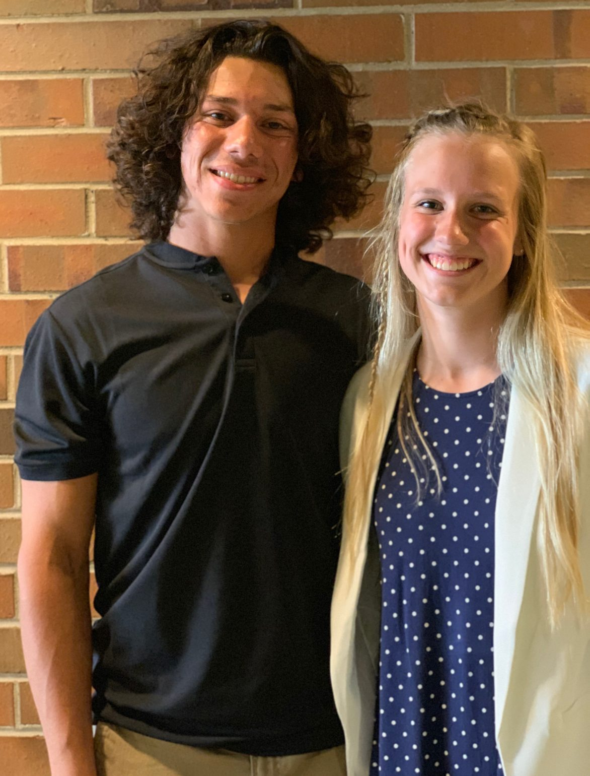 Nicole Oppermann & Nick Hunter win the 2018-2019 Viking Award