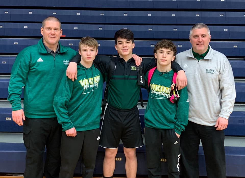 Three Wrestlers Qualify for MHSAA Individual State Finals