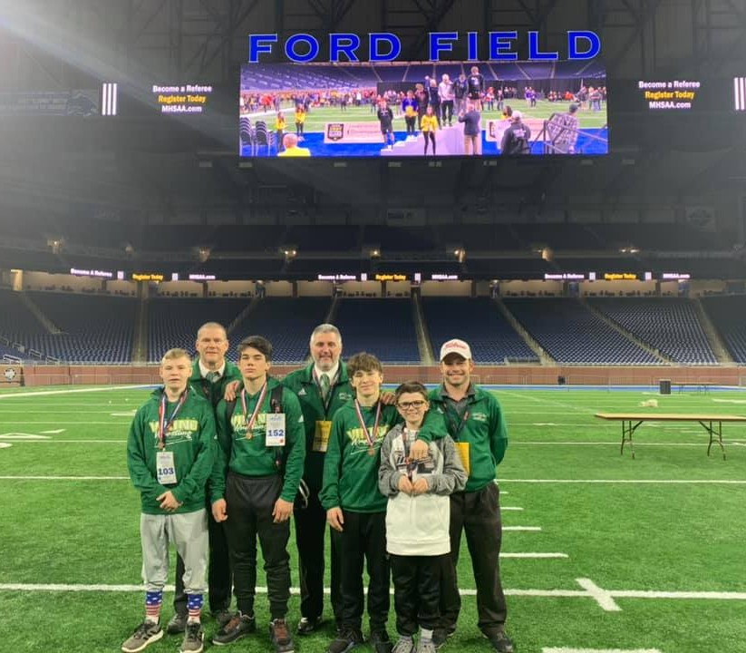 Wrestling Program has 3 kids place in the State Finals