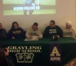 Justin Nicholas signs to play Football at Albion College
