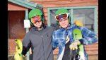 Jacob Macfalda and David Burr qualify for the MHSAA Ski State Finals
