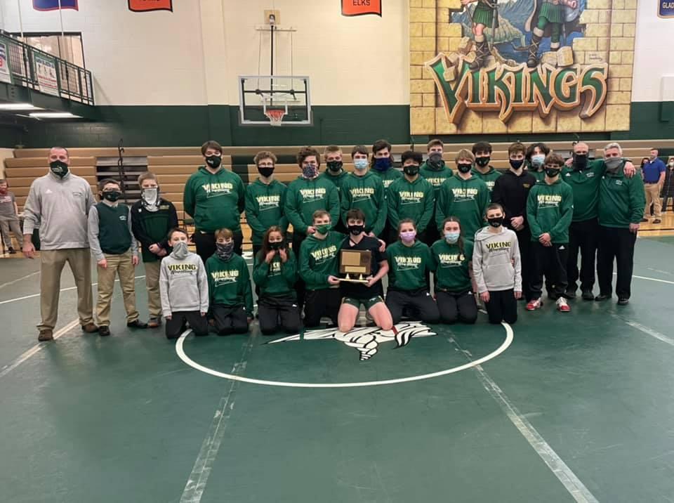 Wrestling Wins 9th Straight LMC Championship