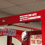 The Lutz Foundation donates to  weight room upgrade