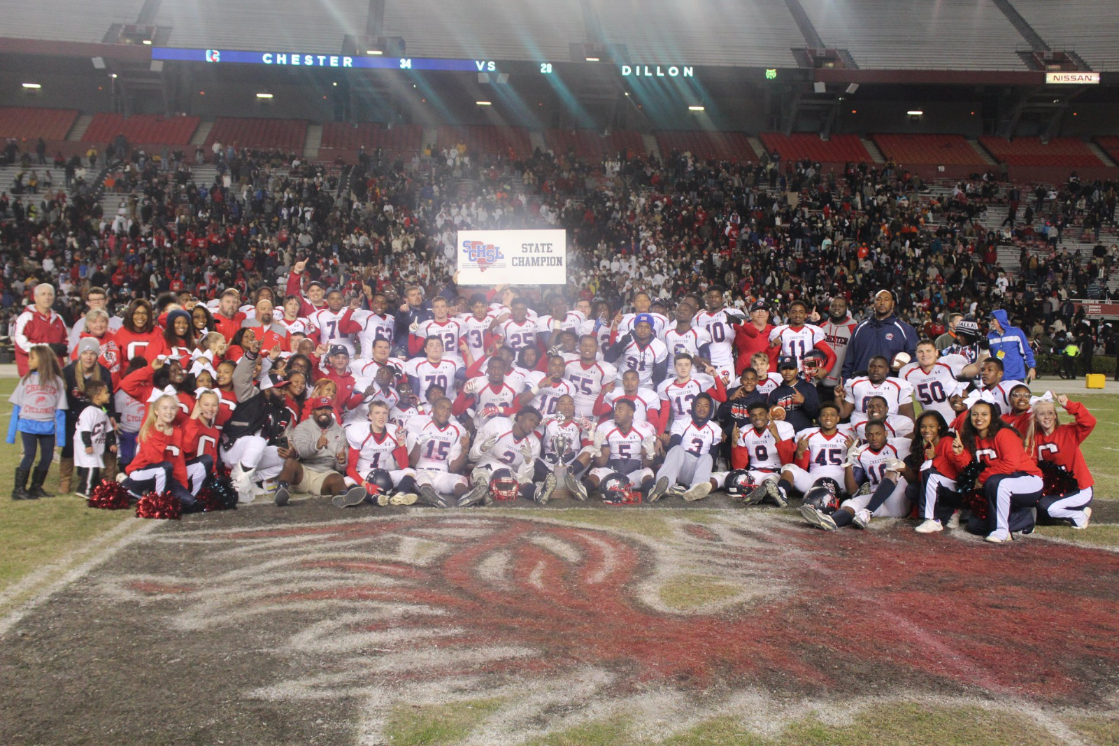 3-A Football State Champs