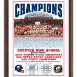 State Championship Plaque
