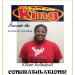Chicken King Player of the Week-Volleyball