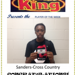 Chicken King Player of the Week-Cross Country