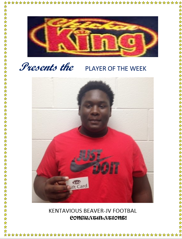 Chicken King Player of the Week-K. Beaver