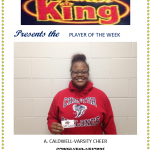 Chicken King Player of the Week-Varsity Cheer