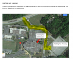 Visiting Fan Parking-Winter Athletic Events