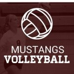 VB: Hawks Take Down Mustangs in Non-District Contest