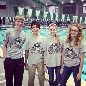 Boys and Girls Swim Team 2014-15