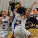 Girls BB: Lutheran Closes Out Regular Season With Win