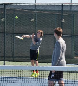 Boys and Girls Tennis Matches