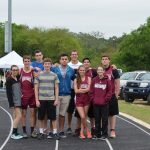 Track Teams Compete at TAPPS District Meet