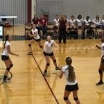 VB: Lady Mustangs Still Perfect in District Play