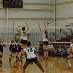 VB: 9th Straight for Lady Mustangs; District Showdown Set for Tuesday