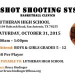 Lutheran High Hosting Pro Shot Basketball Shooting Camp