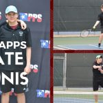 Mustang Doubles Team Competes at State Tennis Meet