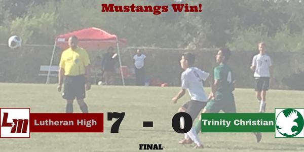 Mustang Soccer Gets Back on Winning Side