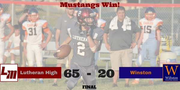 Mustangs Record Second Win of the Year