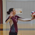 Girls Varsity Volleyball falls to Sacred Heart 3 – 2