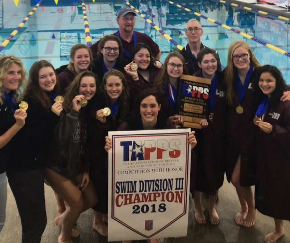 Lady Seastangs Claim 2018 TAPPS State Swim Title!