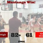 Boys Basketball Knock Off CTCS in Playoff Opener