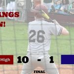 Baseball Knocks Off TSD