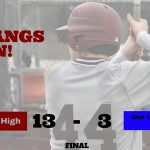 Baseball Knocks Off OLH to Remain Undefeated in District Play