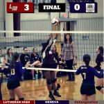 Lutheran Beats Geneva in Battle of Unbeaten District Teams!~