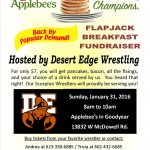 Applebee's & Pancakes!