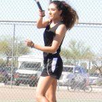 Lady Tennis