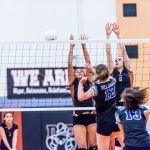 Girls Varsity Volleyball beats Lake Havasu 3 – 0