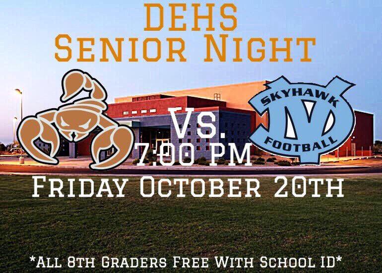 Senior Night: Desert Edge vs Deer Valley