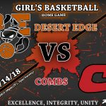 Girl's Basketball Takes on Combs High Friday!