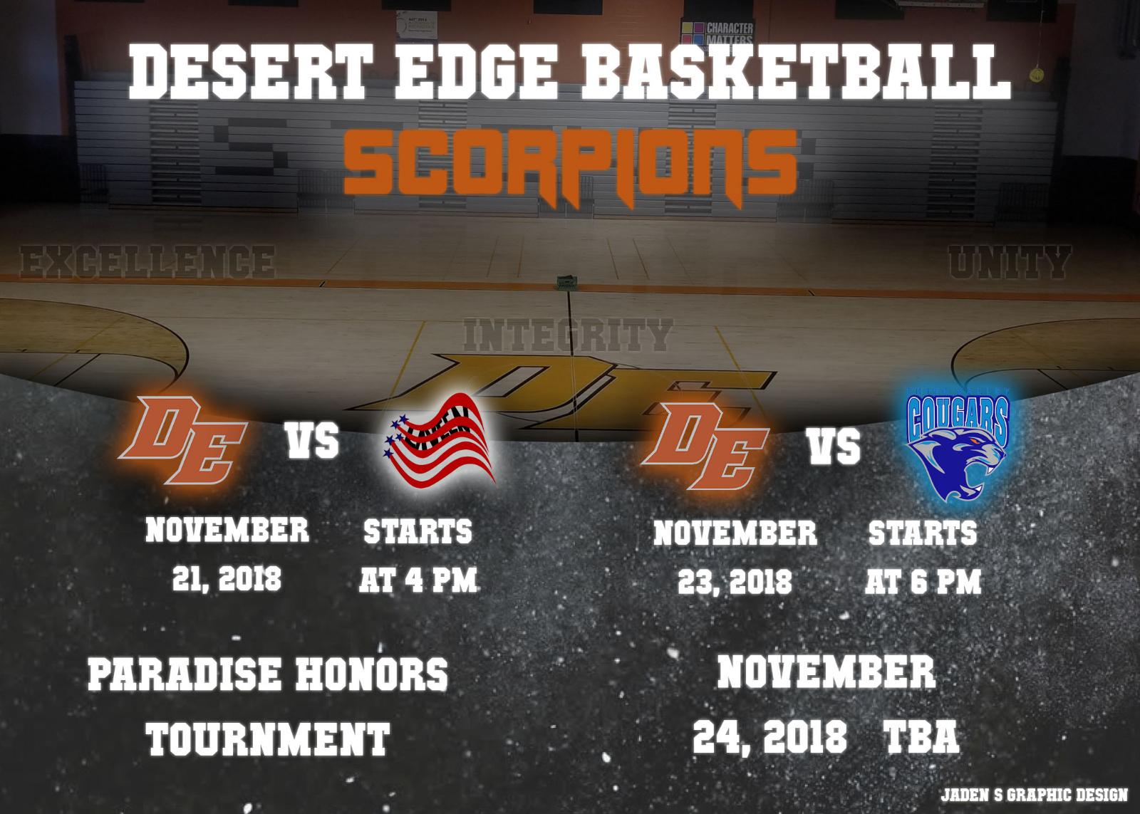 Boys Basketball Tournament This Week!