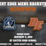 Scorpion Basketball Update